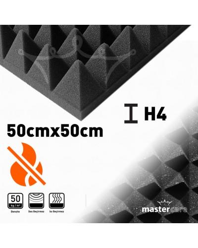 Mastercare H4 Karbonlu Yanmaz Sünger Piramit 50cmx50cm