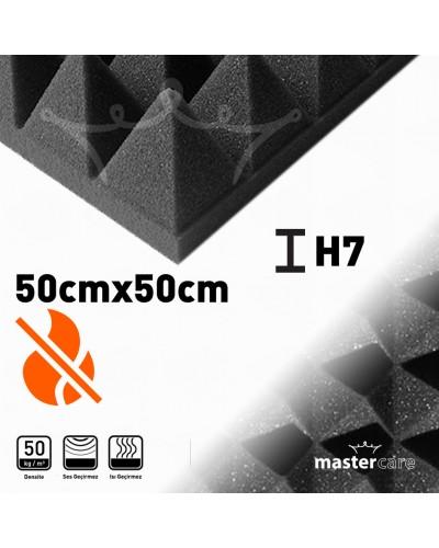 Mastercare H7 Karbonlu Yanmaz Sünger Piramit 50cmx50cm